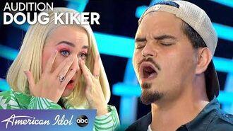 Garbage Man Doug Kiker CHARMS the Judges - American Idol 2020