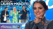 Shawn Camp's Fiancée Lauren Mascitti Woos the Judges With Original Song - American Idol 2020