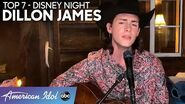 """WOW! Dillon James Stuns Singing """"Our Town"""" For Disney Night - American Idol 2020"""