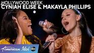 Cyniah Elise & Makayla Phillips Team Up for a Celine Dion Hit - American Idol 2020