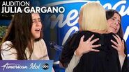Julia Gargano's Original Audition Song Is So Good Katy Perry Gives Her a Hug - American Idol 2020