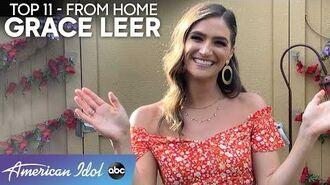 """Grace Leer Sings BEAUTIFUL Rendition of """"Over The Rainbow"""" - American Idol 2020"""