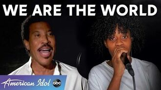 """Lionel Richie And An All-Star Line-Up Perform """"We Are The World"""" - American Idol 2020 Finale"""