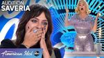 WHAT?! Saveria's Audition Has Katy Perry Jumping Out of Her Seat - American Idol 2020