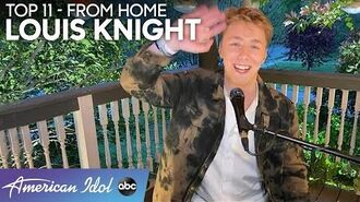 HEARTTHROB Louis Knight Sings a Coldplay Hit - American Idol 2020