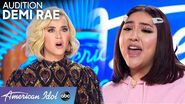 Demi Rae has Katy Perry in SHOCK - American Idol 2020