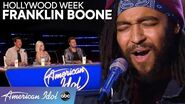 Franklin Boone is SMOOTH with His Take on a Leon Bridges Hit - American Idol 2020
