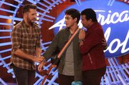 Luke Bryan, Francisco Martin, Lionel Richie s18 auditions