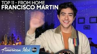 Francisco Martin Has Us FALLING For This Home Performance! - American Idol 2020
