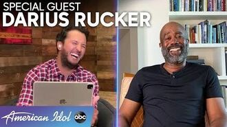 Darius Rucker And Luke Bryan Talk About What It Takes To Be Successful - American Idol 2020