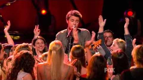 Kris Allen - All She Wants To Do Is Dance (American Idol 8 Top 8) HQ