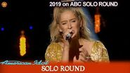 """Margie Mays sings """"Never Enough"""" Tearful this time American Idol 2019 SOLO Round"""