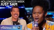 INSPIRING Just Sam Pushes Through the Struggle of Hollywood Week - American Idol 2020