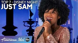 """JUST SAM Has Her Disney Moment Performing """"A Dream Is A Wish Your Heart Makes"""" - American Idol 2020"""