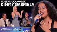 """Top 10 Material"" Kimmy Gabriela Sings AMAZING Solo During Hollywood Week - American Idol 2020"