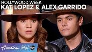 STUNNING Couple Kat Lopez & Alex Garrido the Space Cowboy Deliver an Emotional Duet - American Idol