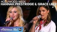 Country Sweethearts Grace Leer and Hannah Prestridge Sing a Sassy Duet - American Idol 2020