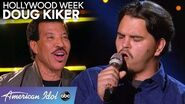 Garbage Man Doug Kiker Gives It His All During Hollywood Week - American Idol 2020