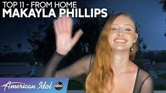 """Makayla Phillips Gives STUNNING Performance Of """"The House That Built Me"""" - American Idol 2020"""