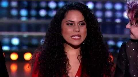 Britney Holmes Gets a Golden Ticket - American Idol on ABC
