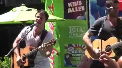 Kris Allen - Live Like We're Dying - Chicago