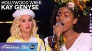 FIERCE and FUN Kay Genyse Brings Her Confidence to Hollywood Week - American Idol 2020