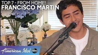 FRANCISCO MARTIN Gives A Heartfelt Performance Of Leon Bridges Hit - American Idol 2020