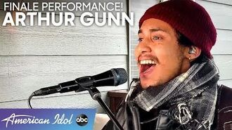"ARTHUR GUNN Sings ""Have You Ever Seen The Rain"" by CCR - American Idol 2020 Finale"