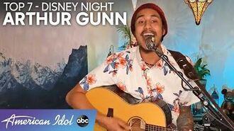 "AMAZING! Arthur Gunn Performs ""Kiss The Girl"" For Disney Night - American Idol 2020"