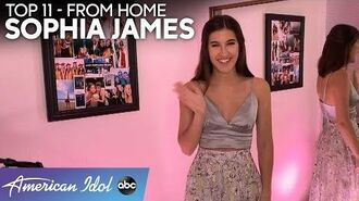 Sophia James Performs an EMOTIONAL Beach Boys Classic In Her Room - American Idol 2020