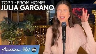 """The """"SWEETEST DEVOTION"""" From Julia Gargano To Her Mom - American Idol 2020"""