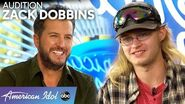 Luke Bryan Helps Mud-Covered Zack Dobbins Tune Up - American Idol 2020