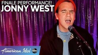 INCREDIBLE Jonny West Gives His FINALE Performance Everything - American Idol 2020