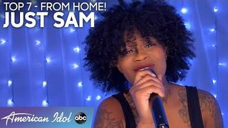 INSPIRING Just Sam's Mother's Day Dedication Leaves Everyone In Tears - American Idol 2020