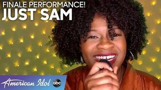 WOW! Just Sam Gives a Strong Performance Of A Kelly Clarkson Bop - American Idol 2020