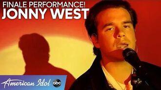 "JONNY WEST Delivers Original Song ""Makin' Love"" - American Idol 2020 Finale"