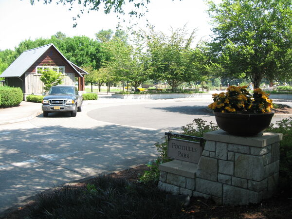 Terrain OR Portland FoothillsPark entrance