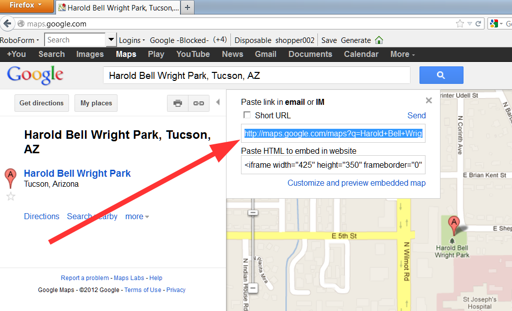 Image - How to use google maps 03.png | American Petanque Directory ...