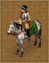 White mounted officer 17th