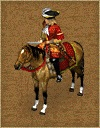 Red mounted officer 17th