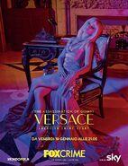 Penelope Cruz as Donatella Versace promotional posters
