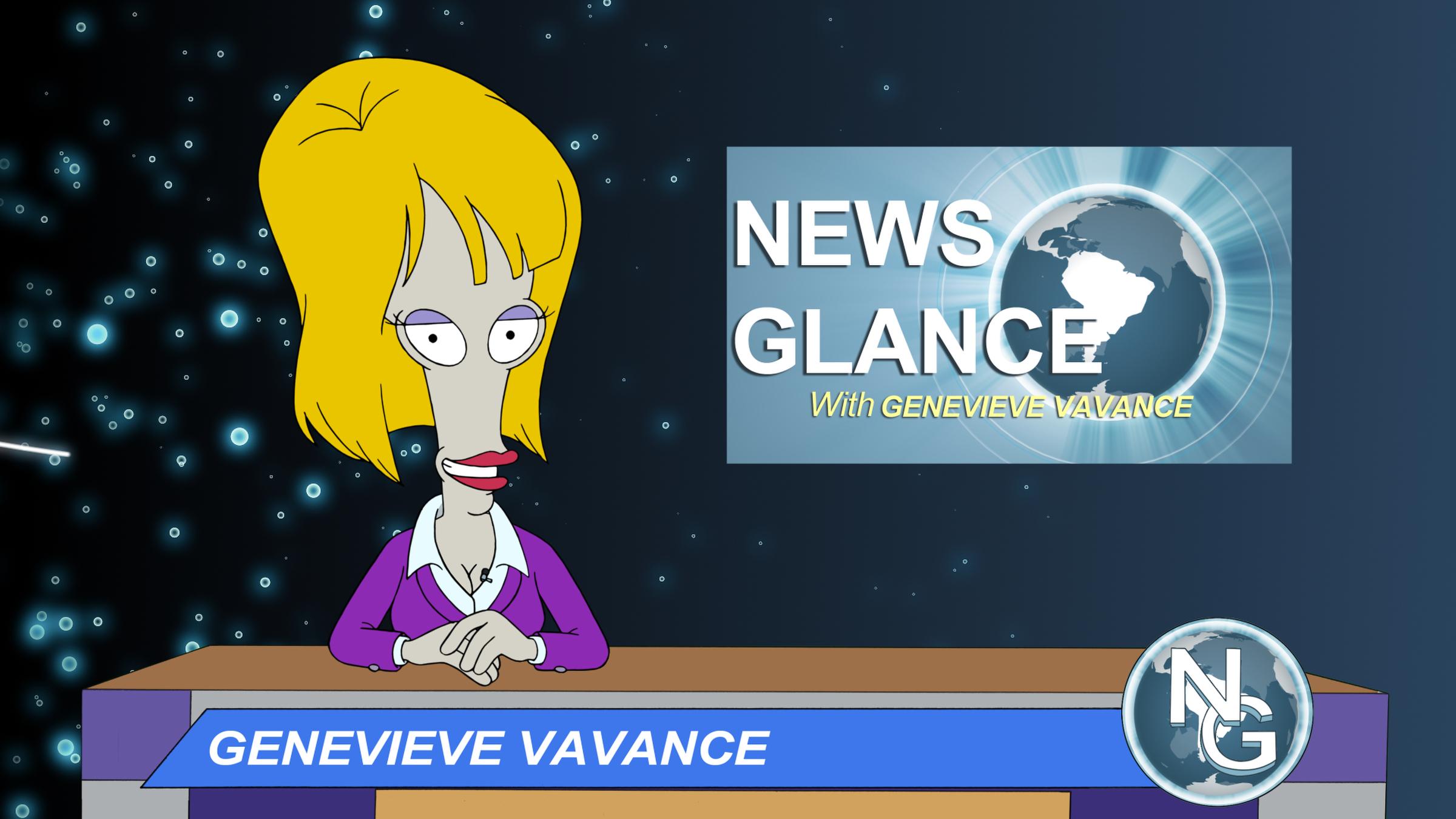 American Dad Francine Having Sex news glance with genevieve vavance   american dad wikia   fandom
