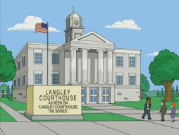 Langley Courthouse