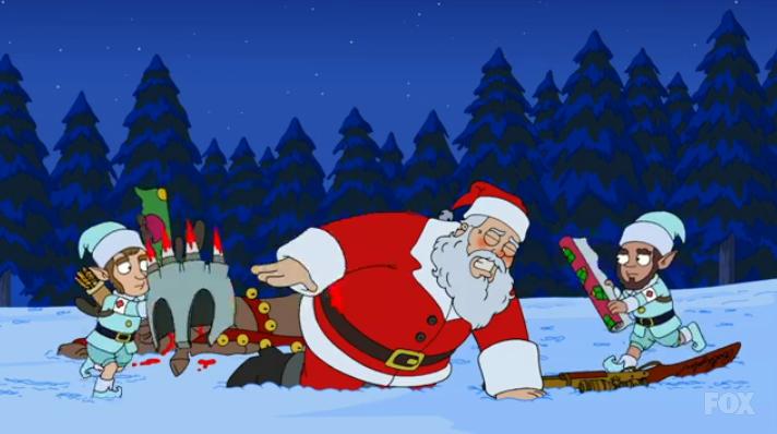 alexjerimia - American Dad Christmas Episode