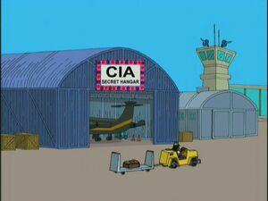 CIA Secret Hanger