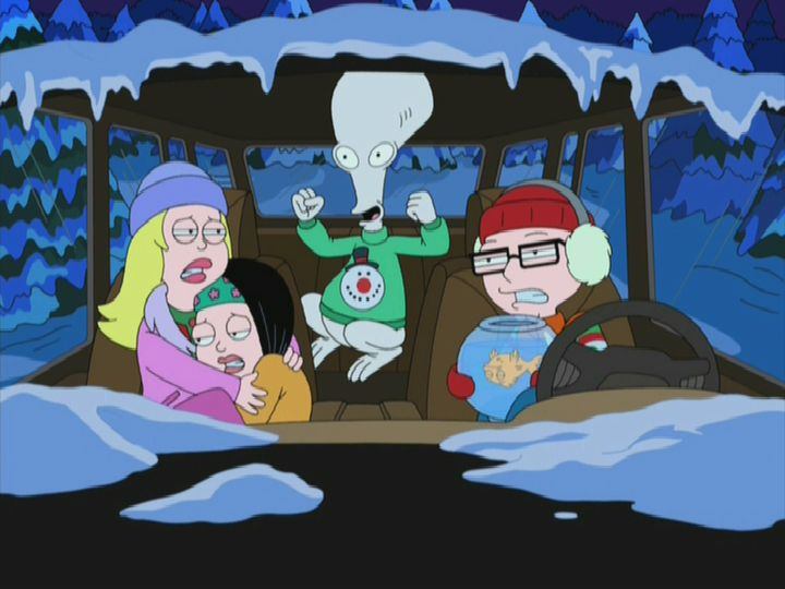 christmas song 3 - American Dad Christmas Episode