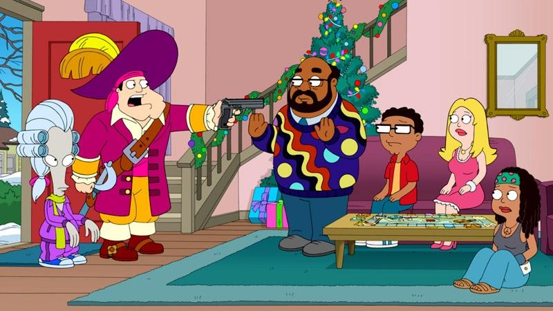 dreaming of a white porsche christmas - American Dad Christmas Episode