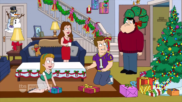 dream family - American Dad Christmas Episode