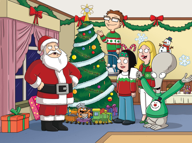 categoryholiday episodes american dad wikia fandom powered by wikia - American Dad Christmas Episode