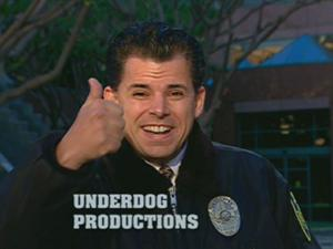 Underdog Productions' Security Officer Pena Logo